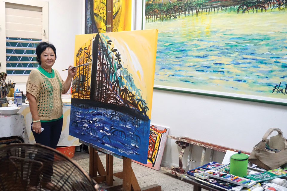 Cuban Artist Flora Fong