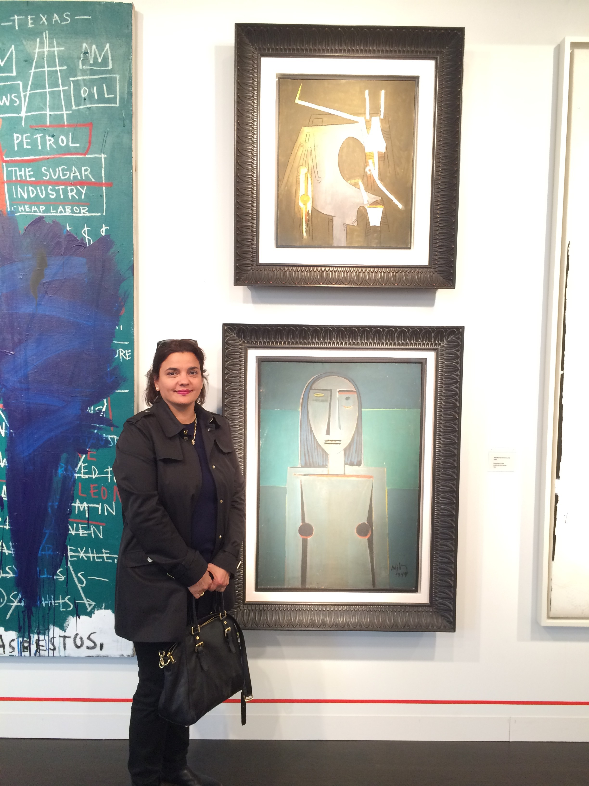 Wifredo Lamm exhibited at Art Basel 2015