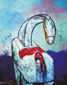 Daring - Acrylic and oil on canvas 100 x 80 cm 2001