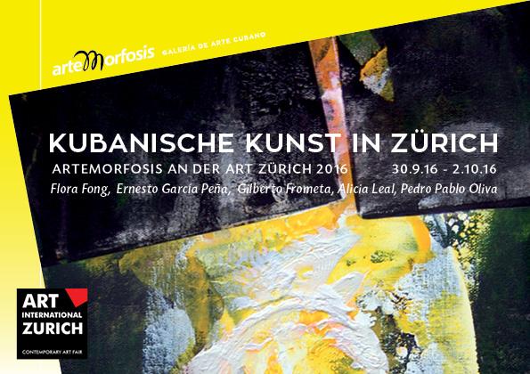 Einladungskarte Art Zürich 2016