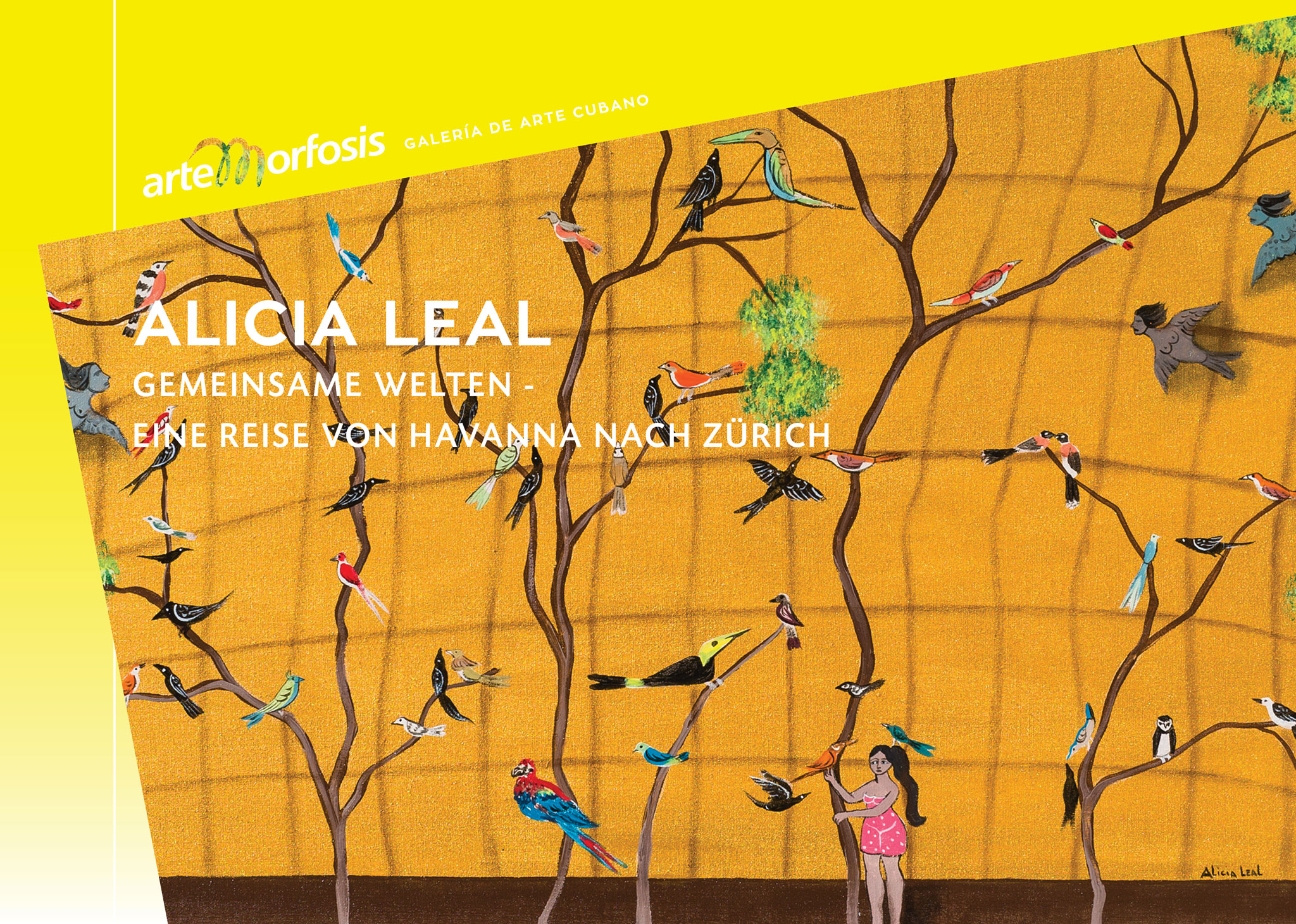 Alicia Leal - Invitation Card